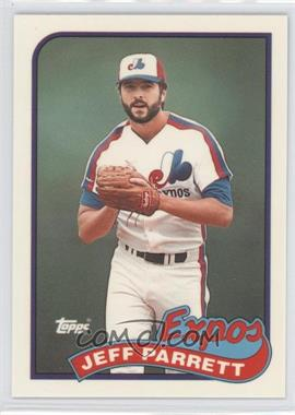 1989 Topps Box Set Collector's Edition (Tiffany) #176 - Jeff Parrett