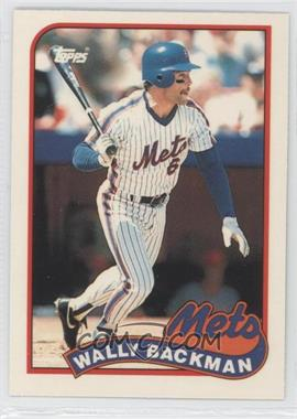 1989 Topps Box Set Collector's Edition (Tiffany) #508 - Wally Backman