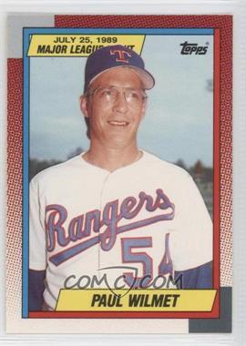 1989 Topps Major League Debut Box Set [Base] #145 - Paul Wilmet