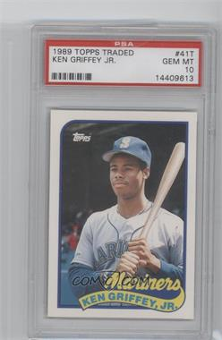 1989 Topps Traded Box Set [Base] #41T - Ken Griffey Jr. [PSA 10]