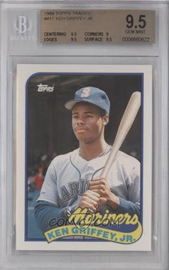 1989 Topps Traded Box Set [Base] #41T - Ken Griffey Jr. [BGS 9.5]