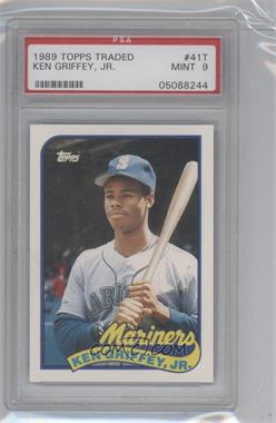 1989 Topps Traded Box Set [Base] #41T - Ken Griffey Jr. [PSA 9]
