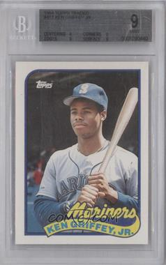1989 Topps Traded Box Set [Base] #41T - Ken Griffey Jr. [BGS 9]
