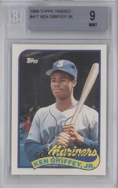 1989 Topps Traded Box Set [Base] #41T - Ken Griffey [BGS 9]