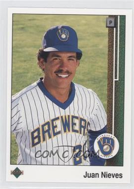 1989 Upper Deck - [Base] #646 - Juan Nieves