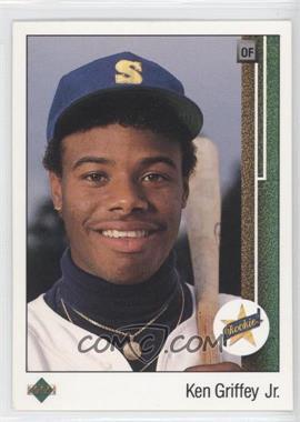 1989 Upper Deck #1 - Ken Griffey Jr.