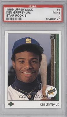 1989 Upper Deck #1 - Ken Griffey Jr. [PSA9]
