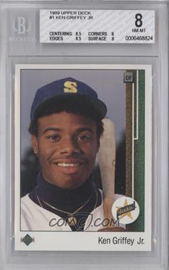 1989 Upper Deck #1 - Ken Griffey Jr. [BGS 8]