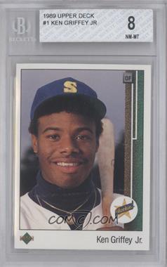 1989 Upper Deck #1 - Ken Griffey Jr. [BGS8]