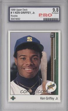 1989 Upper Deck #1 - Ken Griffey Jr. [ENCASED]