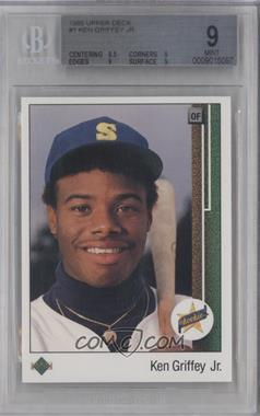 1989 Upper Deck #1 - Ken Griffey Jr. [BGS 9]