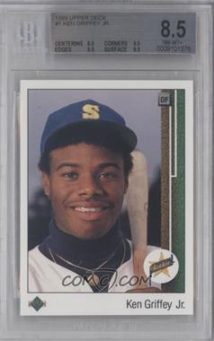1989 Upper Deck #1 - Ken Griffey Jr. [BGS 8.5]