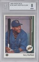 Gary Sheffield (Error: Upside Down SS on Front) [BGS 8]