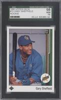 Gary Sheffield (Correct: Right Side Up SS on Front) [SGC 98]