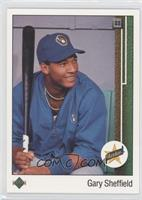 Gary Sheffield (Correct: Right Side Up SS on Front)