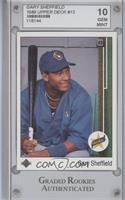 Gary Sheffield (Correct: Right Side Up SS on Front) [ENCASED]
