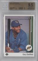 Gary Sheffield (Correct: Right Side Up SS on Front) [BGS 9.5]