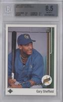 Gary Sheffield (Correct: Right Side Up SS on Front) [BGS8.5]