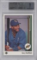 Gary Sheffield (Correct: Right Side Up SS on Front) [BGS 9]