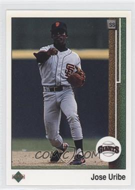 1989 Upper Deck #181 - Jose Uribe