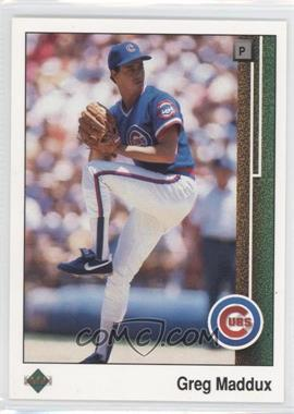 1989 Upper Deck #241 - Greg Maddux