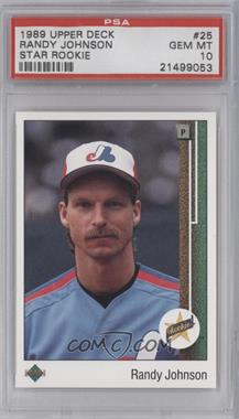 1989 Upper Deck #25 - Randy Johnson [PSA 10]