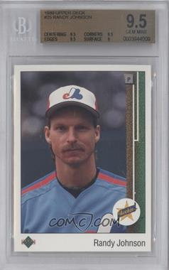 1989 Upper Deck #25 - Randy Johnson [BGS 9.5]