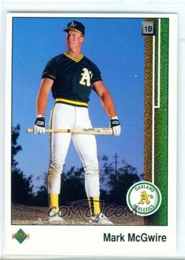 1989 Upper Deck #300 - Mark McGwire