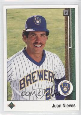 1989 Upper Deck #646 - Juan Nieves