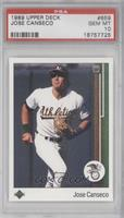 Jose Canseco (Black Eagle Logo) [PSA 10]