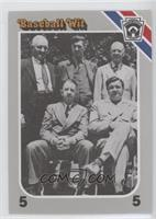 1939 Centennial (Honus Wagner, Grover Alexander, Tris Speaker, Eddie Collins, B…
