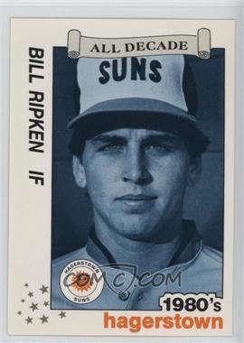 1990 Best Hagerstown Suns All Decade - [Base] #22 - Billy Ripken