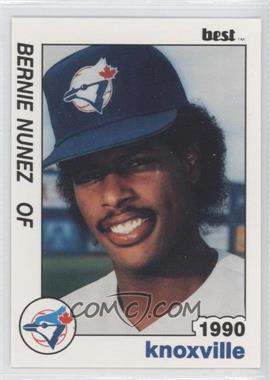 1990 Best Knoxville Blue Jays - [Base] #14 - Bernie Nunez