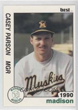 1990 Best Madison Muskies - [Base] #25 - Casey Parsons