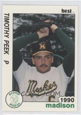 1990 Best Madison Muskies #23 - Tim Peek