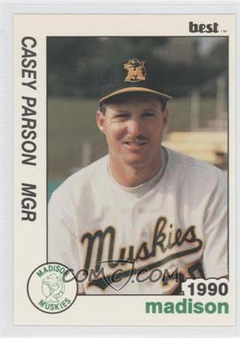 1990 Best Madison Muskies #25 - Casey Parsons