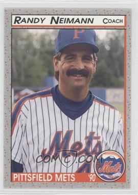 1990 Bill Pucko Pittsfield Mets #26 - R.A. Neitzel