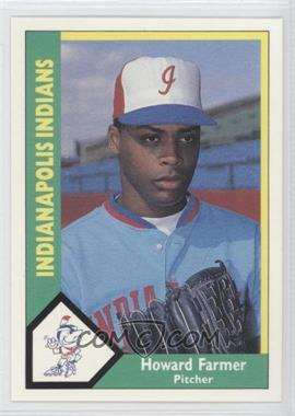 1990 CMC AAA Indianapolis Indians Green Backs #3 - Howard Farmer