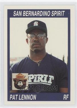1990 California League #101 - Patrick Lennon