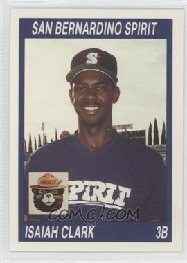 1990 California League #103 - Isaiah Clark