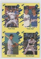 Frank Viola, Nolan Ryan, Don Mattingly, Reid Ryan, Chipper Jones