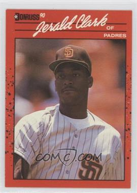 1990 Donruss - [Base] #593 - Jerald Clark