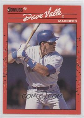 1990 Donruss Aqueous Test #129 - Dave Valle