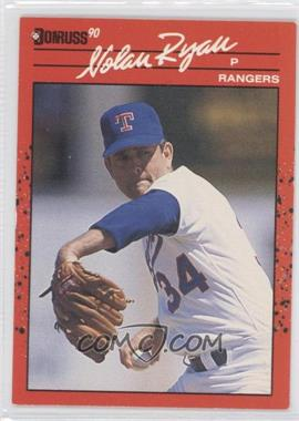 1990 Donruss #166 - Nolan Ryan