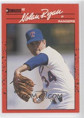 1990 Donruss #166 - Nolan Ryan