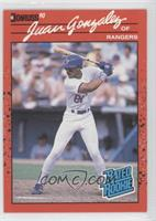 Juan Gonzalez (Error: Reversed Negative)