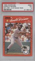 Harold Baines (Error: Black Line Through Star and