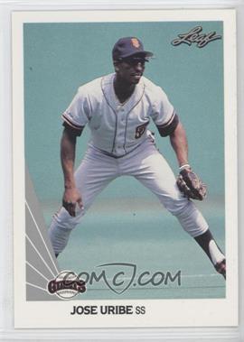 1990 Leaf #225 - Jose Uribe