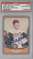 Earl Weaver [PSA/DNA Certified Auto]
