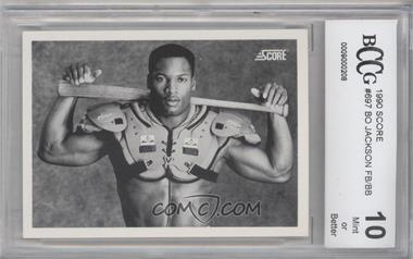 1990 Score - [Base] #697 - Bo Jackson [ENCASED]